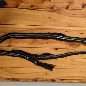 Banana Republic Silk Beaded Skinny Scarf